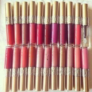 Thank you, YSL for the full collection!!!  Gloss Volupte