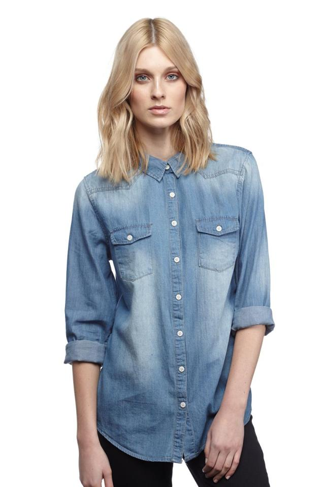 Photo from: http://shop.cottonon.com/shop/product/roxanne-denim-shirt-mid-blue-wash/