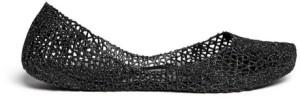 Melissa Campana Papel Glitter Black Flats $55-$85